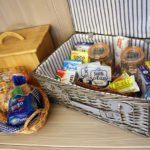 Breakfast hamper.